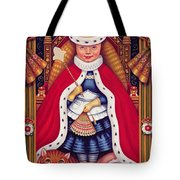 Queen Alice, 2008 Oil And Tempera On Panel Tote Bag