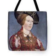 Queen Anne Of Hungary And Bohemia Tote Bag