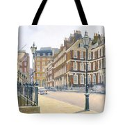 Queen Annes Gate Oil On Canvas Tote Bag