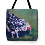 Queen Annes Lace        Hen Tote Bag