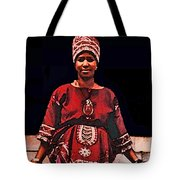 Queen Aretha Tote Bag
