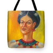 Queen Centehua Tote Bag by Lilibeth Andre