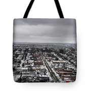 Queen City Winter Wonderland After The Storm Series 0010 Tote Bag