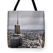 Queen City Winter Wonderland After The Storm Series 0012 Tote Bag