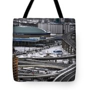 Queen City Winter Wonderland After The Storm Series 0014 Tote Bag