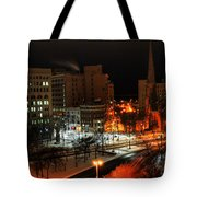 Queen City Winter Wonderland After The Storm Series 0015 Tote Bag