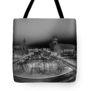 Queen City Winter Wonderland After The Storm Series 0019 Tote Bag