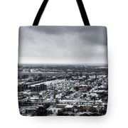 Queen City Winter Wonderland After The Storm Series 002 Tote Bag
