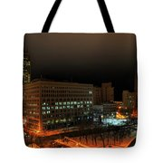 Queen City Winter Wonderland After The Storm Series 0020 Tote Bag