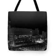 Queen City Winter Wonderland After The Storm Series 0020a Tote Bag