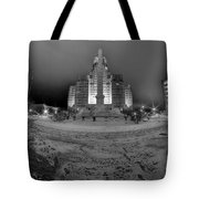 Queen City Winter Wonderland After The Storm Series 0022 Tote Bag