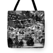 Queen City Winter Wonderland After The Storm Series 0028a Tote Bag
