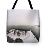Queen City Winter Wonderland After The Storm Series 0034 Tote Bag