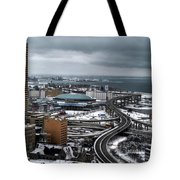 Queen City Winter Wonderland After The Storm Series 006 Tote Bag
