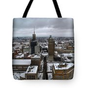 Queen City Winter Wonderland After The Storm Series 007 Tote Bag