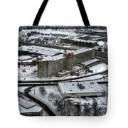 Queen City Winter Wonderland After The Storm Series 008 Tote Bag