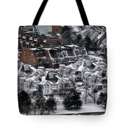 Queen City Winter Wonderland After The Storm Series0028 Tote Bag