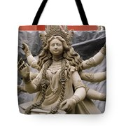Queen Durga Tote Bag by Shaun Higson
