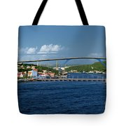 Queen Juliana Bridge  Queen Emma Bridge Curacao Tote Bag