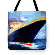 Queen Mary 2 Tote Bag