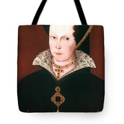 Queen Mary I Of England Tote Bag