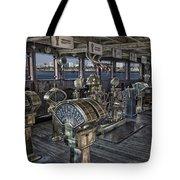 Queen Mary Ocean Liner Bridge 01 Extreme Tote Bag