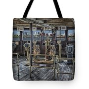 Queen Mary Ocean Liner Bridge 02 Extreme Tote Bag