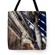 Queen Mary Ship Turnbuckle Tote Bag
