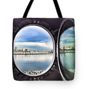 Queen Mary Starboard View Tote Bag