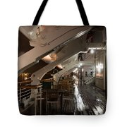 Queen Mary Sun Deck Tote Bag