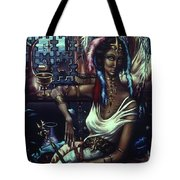 Queen Of Atlantis Tote Bag