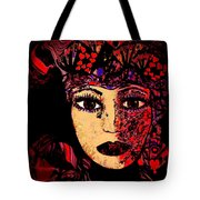 Queen Of Hearts Tote Bag by Natalie Holland