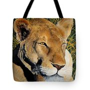 Queen Of The African Savannah Tote Bag
