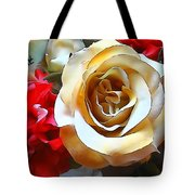 Queen Of The Bouquet Tote Bag