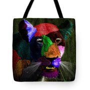 Queen Of The Jungle Featured In Harmony And Happiness-wildlife-nature Photography Groups Tote Bag