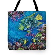 Queen Of The Sea Tote Bag