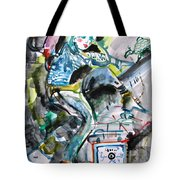 Queen Of The Underground Tote Bag