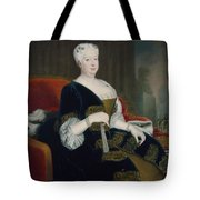 Queen Sophia Dorothea Of Hanover Oil On Canvas Tote Bag