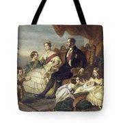 Queen Victoria & Family Tote Bag
