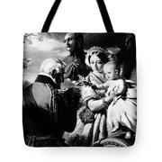 Queen Victoria & Son Tote Bag