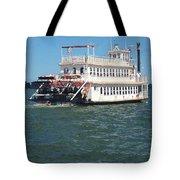 Queen Victoria Ferry Tote Bag