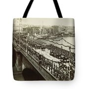 Queen Victoria In Carriage Tote Bag