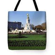 Queen Victoria Memorial At Buckingham Tote Bag