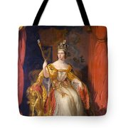 Queen Victoria Of England (1819-1901) Tote Bag