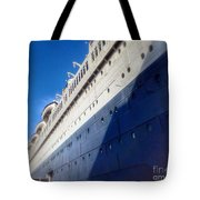 Queen's Blue  Tote Bag