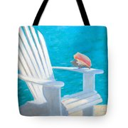 Queens Chair Tote Bag