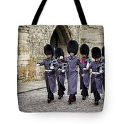 Queens Guard Tote Bag
