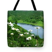 White Daisies At Queen's View 2 Tote Bag