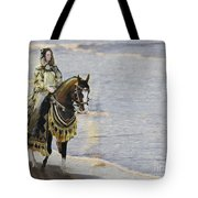 Queens War Horse Tote Bag