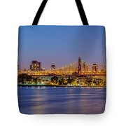 Queensboro Bridge 59th Street Nyc Tote Bag